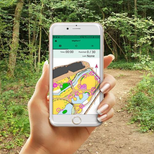 Map Run phone app