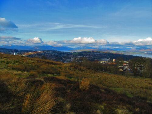 View over Greenock